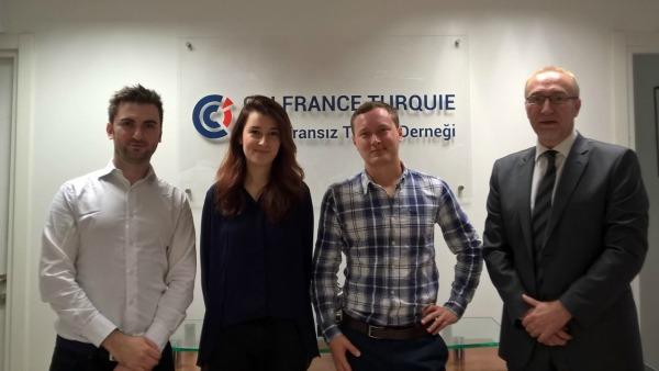 Turquie le volontariat international en entreprise for Chambre de commerce francaise en turquie